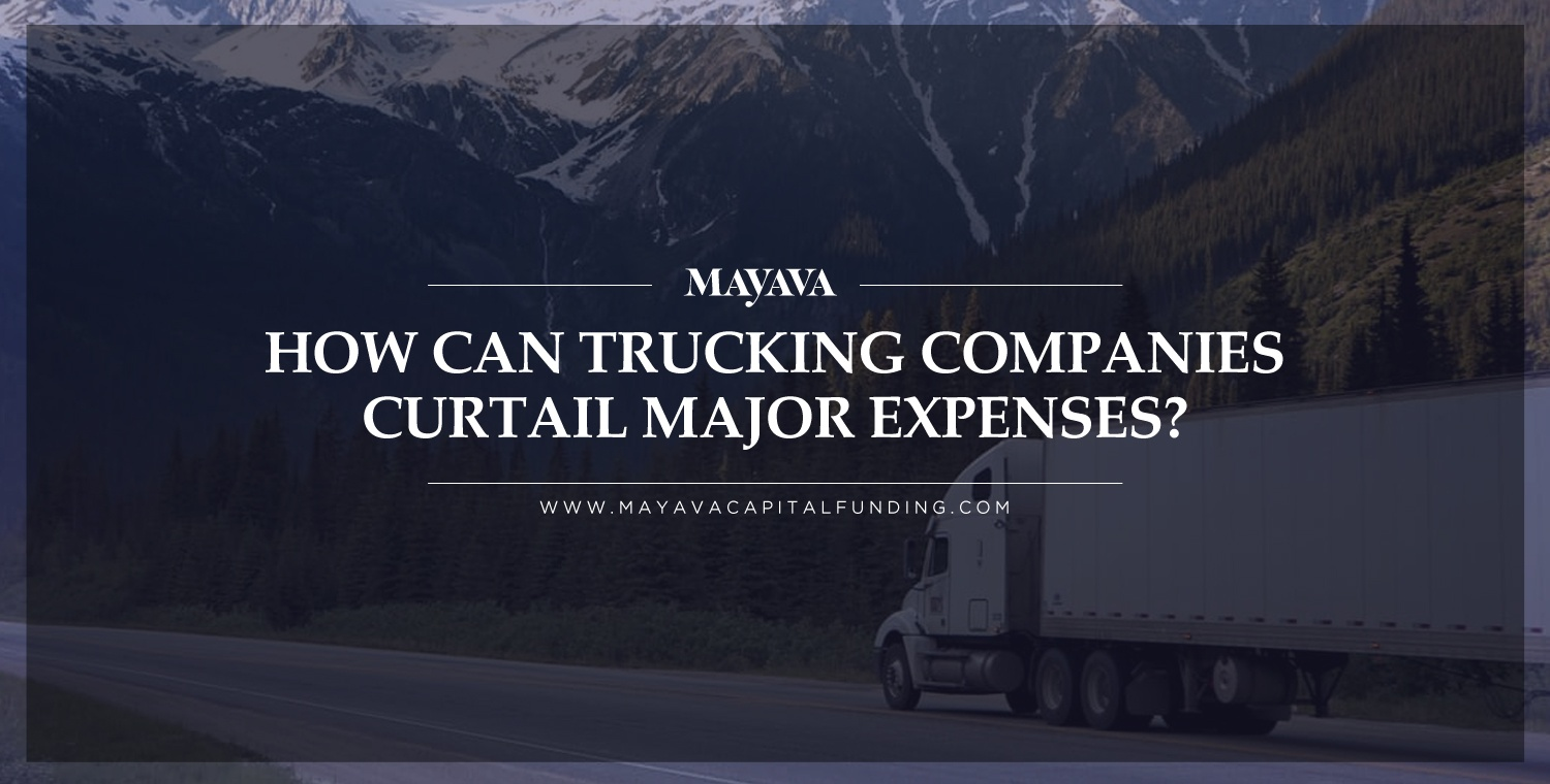 How Can Trucking Companies Curtail Major Expenses?